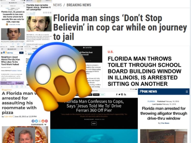 """Does the """"Florida Man"""" trend have anything to do with mental health?"""